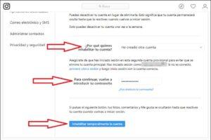 Como Desactivar una Cuenta de Instagram android xacataca