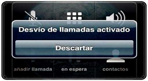 Desactivar el desvióde llamadas del móvil