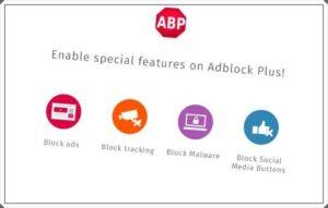 como desactivar adblock