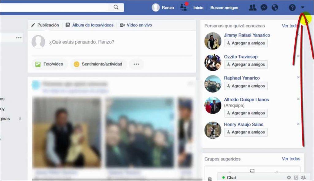 Como Desactivar el Facebook watch