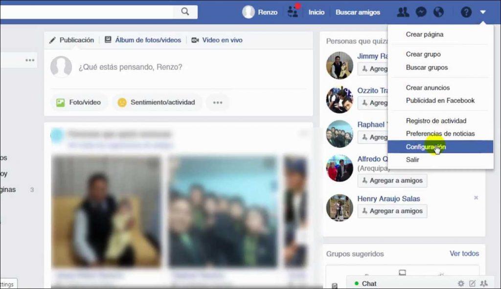 Como Desactivar el Facebook galaxy