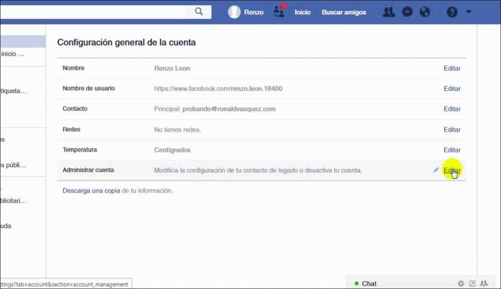 Como Desactivar el messenger Facebook