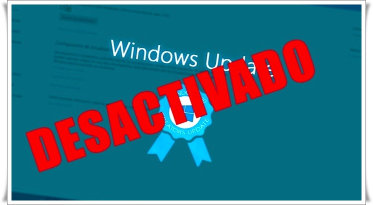 como desactivar windows update