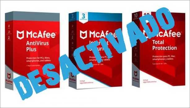 Como Desactivar McAfee