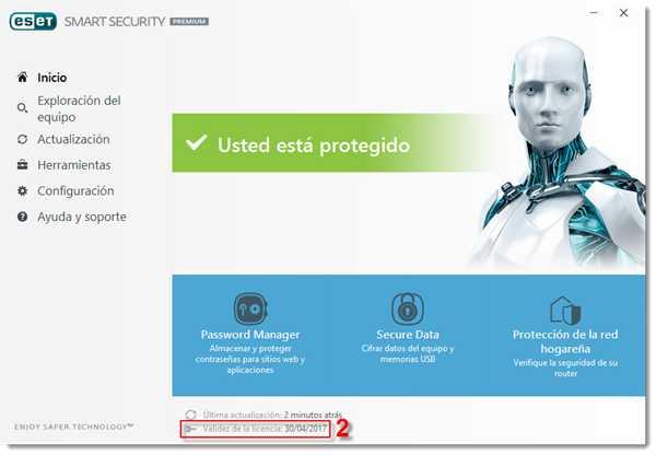 Seriales Licencias NOD32 y Smart Security