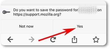 Entra en Facebook sin contraseña desde iOS con Firefox
