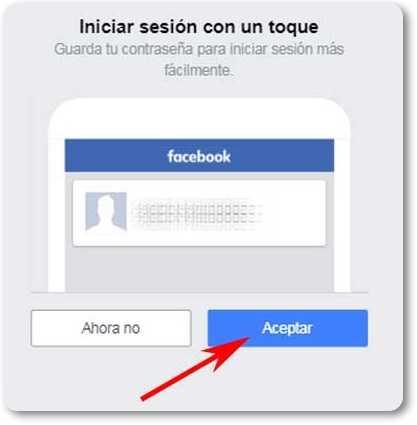 Cómo acceder a Facebook con Chrome desde Android sin contraseña