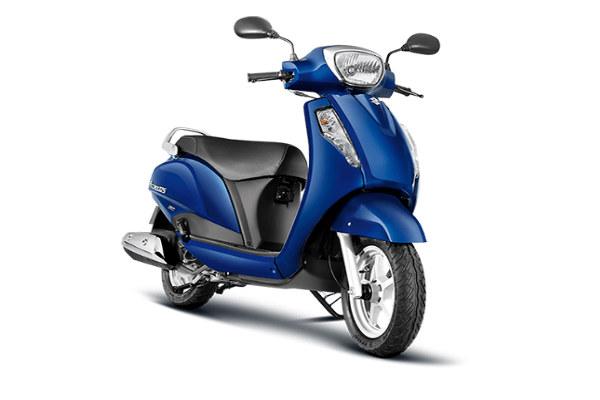 Suzuki Access 125: el mejor scooter ligero para niñas en 2019