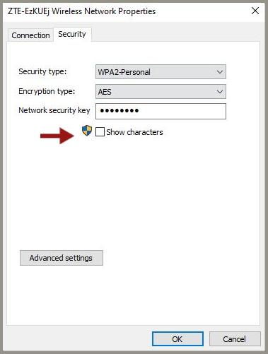 ver las contraseñas de Wi-Fi guardadas en Windows