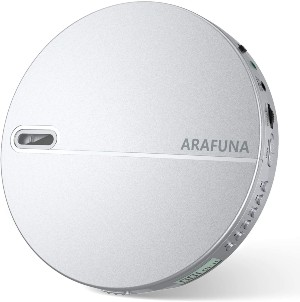 Reproductor de CD portátil con protección antideslizamiento ARAFUNA