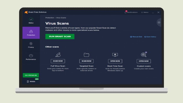 Avast Antivirus gratuito