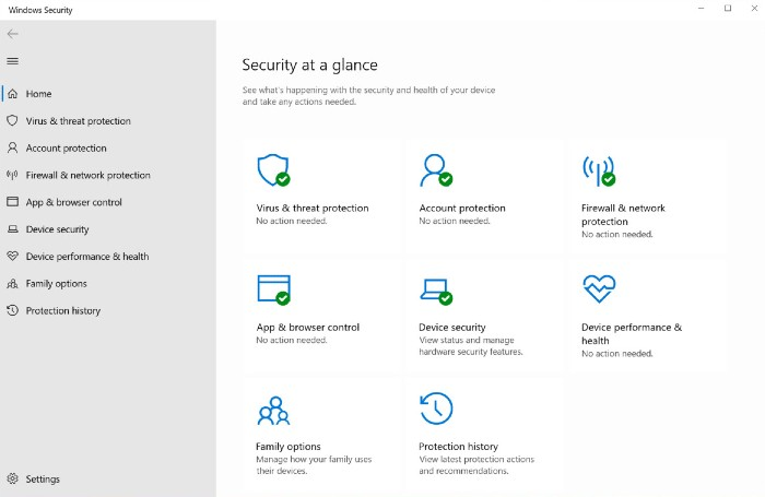 Antivirus de Microsoft Defender