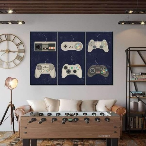 Arte de la pared de juegos