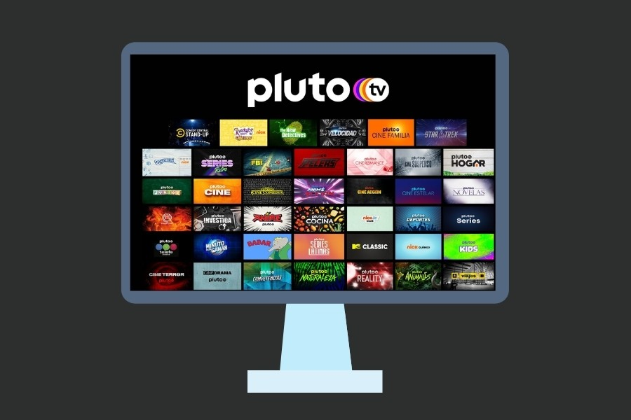Pluto TV en dispositivo inteligente