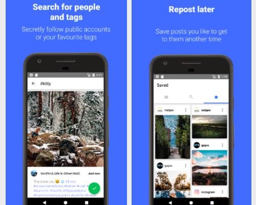 Reposter para Instagram: descargar y guardar