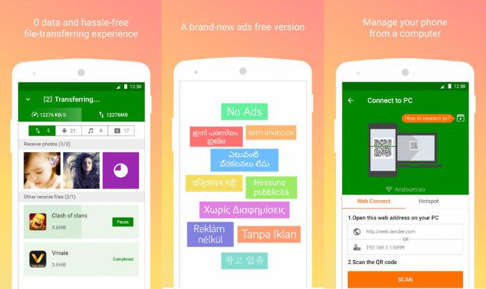 Descargar Xender - Transfer Files gratis para Android