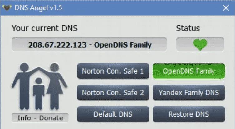 Ángulo DNS