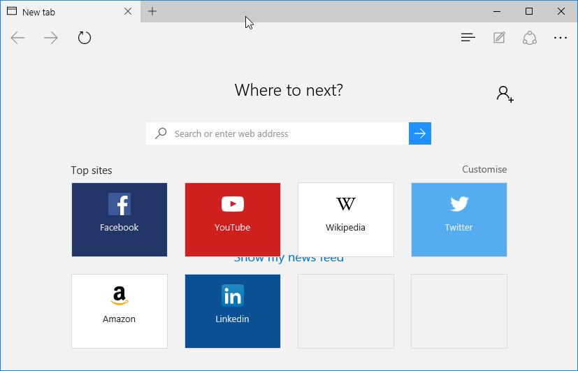 Diferencia entre Windows 10 y Windows 8 o 8.1 EDge
