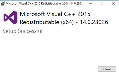Descargar Microsoft Visual C ++ Redistributable (todas las versiones) 3