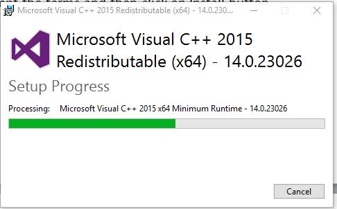 Descargar Microsoft Visual C ++ Redistributable (todas las versiones) 2
