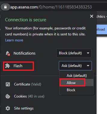 Flash Player no funciona