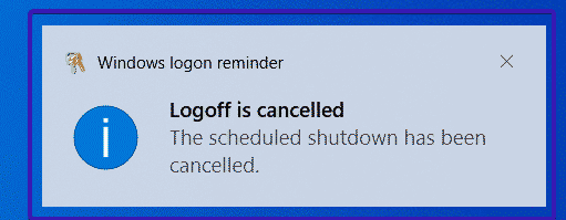 Cancelar mensaje