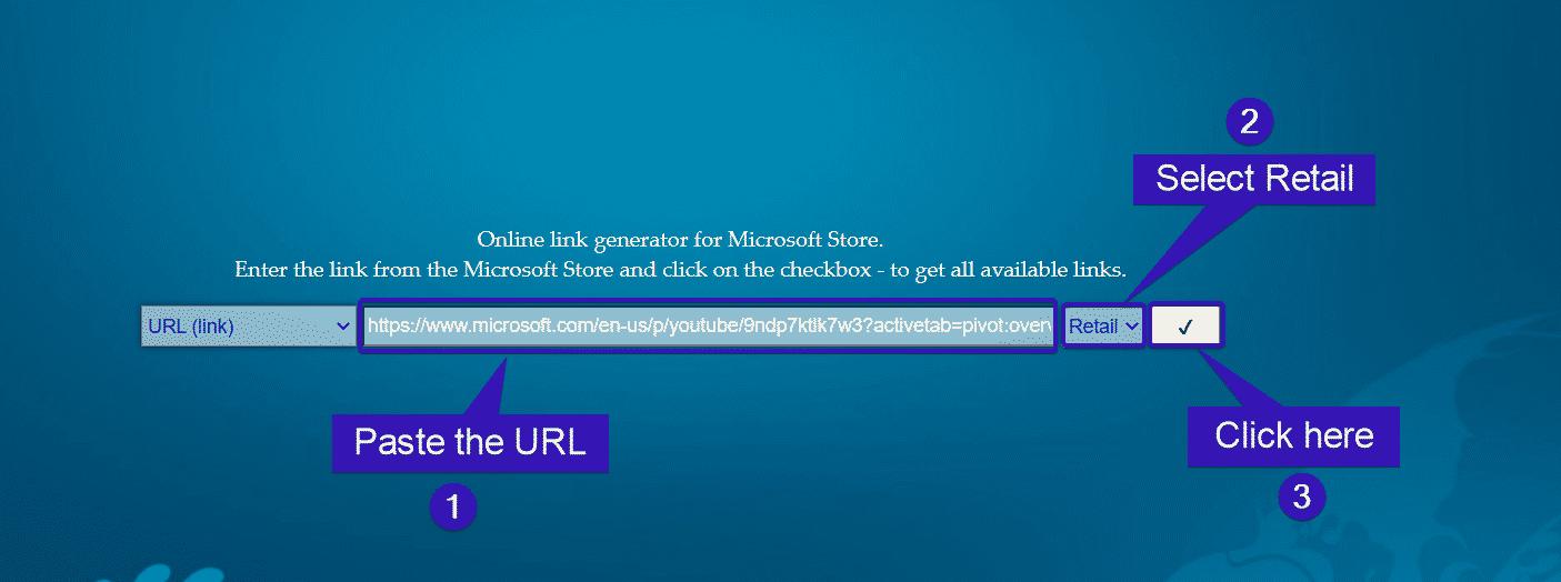 URL minorista
