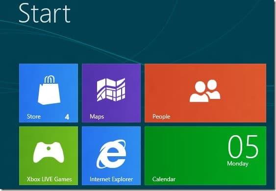 Actualizar aplicaciones de Metro en Windows 8
