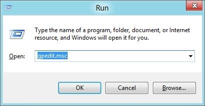 Deshabilitar o apagar la tienda de Windows Paso 1