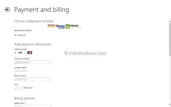 Comprar aplicaciones en la tienda en Windows 8