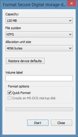 Instale aplicaciones en la tarjeta SD en Windows 8 Step15