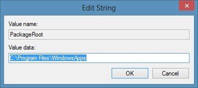Instale aplicaciones en la tarjeta SD en Windows 8 Step1