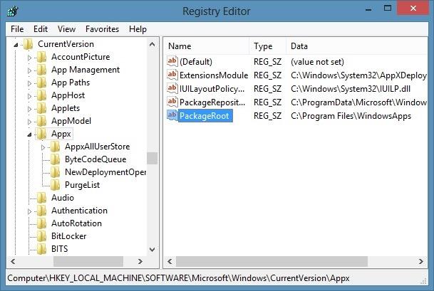 Instalar aplicaciones en la tarjeta SD con el sistema operativo Windows 8