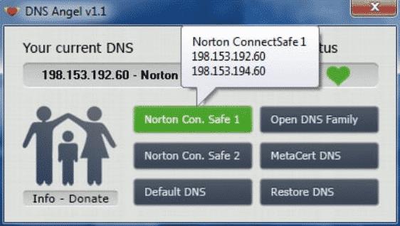 Información de IP
