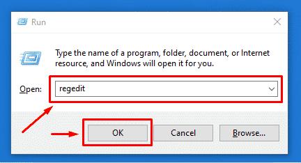 Abrir el editor del registro