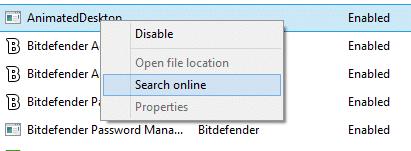 Deshabilitar los programas de inicio en Windows 8.1