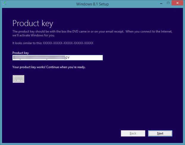 Actualice la vista previa de Windows 8.1 a RTM Step3