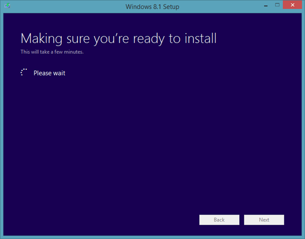 Actualice la vista previa de Windows 8.1 a RTM Step6