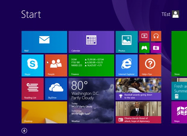 Actualización de Windows 8.1 Preview a 8.1 RTM