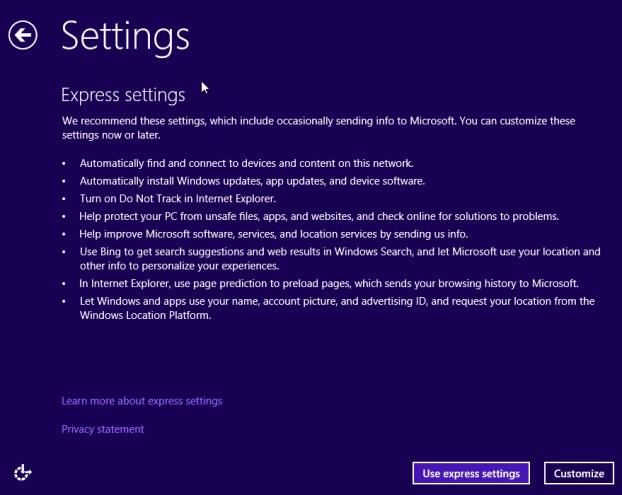 Actualice la vista previa de Windows 8.1 a RTM Step10