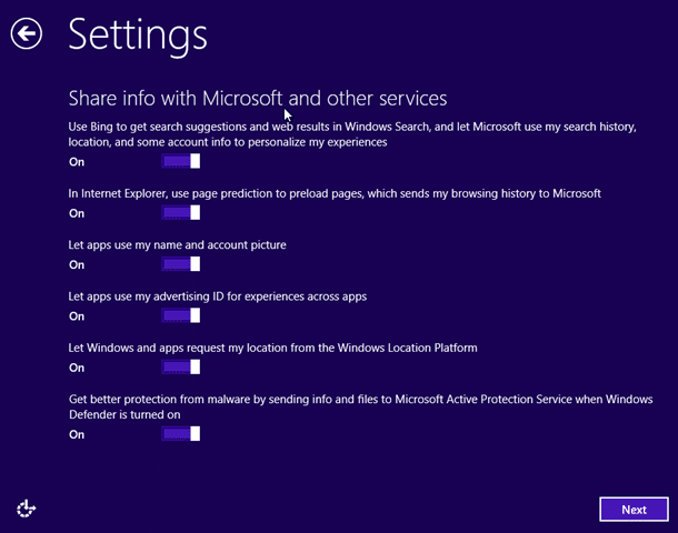 Actualice la vista previa de Windows 8.1 a RTM Step11