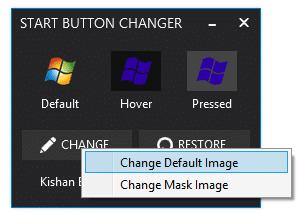 Cambiar la imagen del botón de inicio de Windows 8.1 2