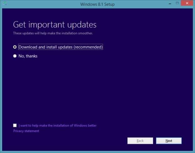 Migrar aplicaciones desde la vista previa de Windows 8.1 a la imagen RTM3