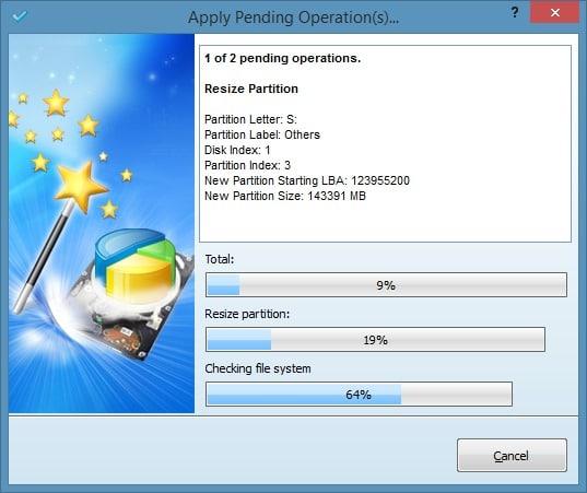 Amplíe la partición del sistema en Windows 8.1 Método 2 Paso 6
