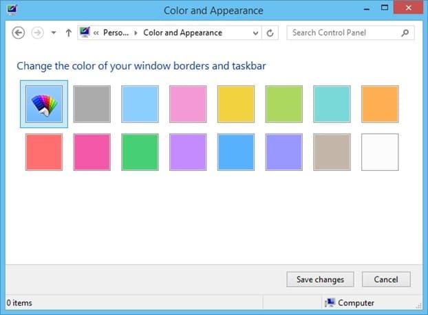 Cambiar automáticamente el color de fondo de la pantalla de inicio en Windows 8.1 Picture5