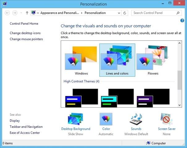 Cambiar automáticamente el color de fondo de la pantalla de inicio en Windows 8.1 Picture3