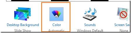 Cambiar automáticamente el color de fondo de la pantalla de inicio en Windows 8.1 Imagen 4