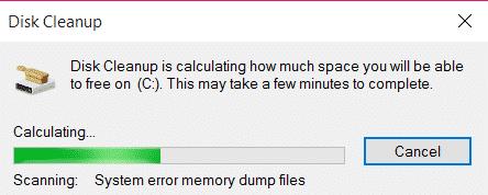 Caché de archivos temporales de Windows