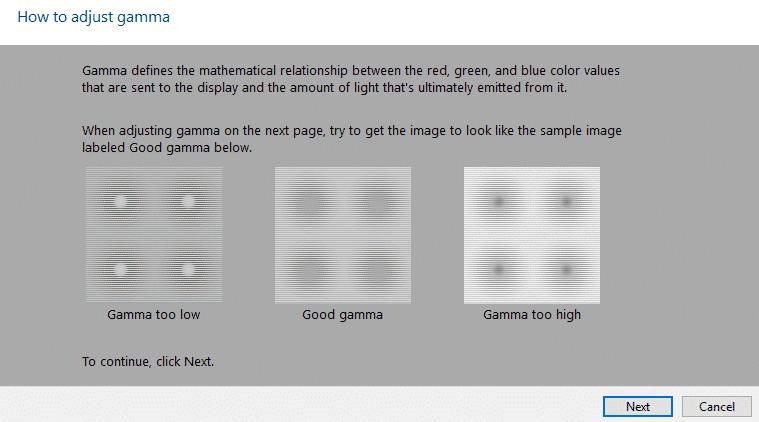 Ajustar gamma