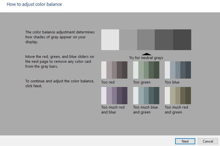 Balance de color